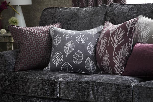 Interior fabric for curtains