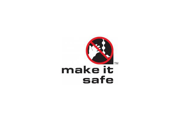 Child safe window blinds logo